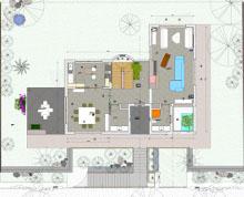villa da 130 mq a piano