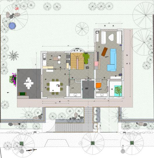Lotto con progetto per la costruzione di una villa da 130 Metri Quadri a piano